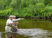 A great day guiding with repeat customers | AuSable River two Fly Shop